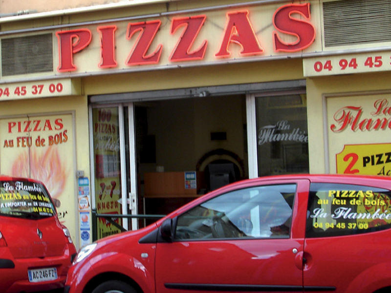 Notre pizzeria à Roquebrune/Argens